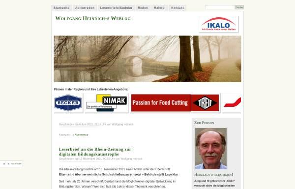 Vorschau von www.wolfgangheinrich.de, Heinrich, Wolfgang