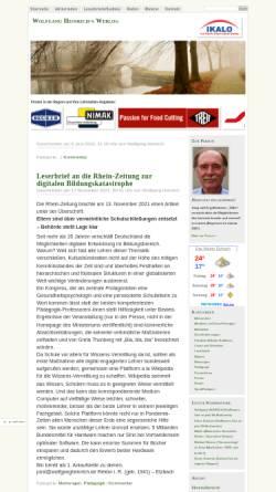 Vorschau der mobilen Webseite www.wolfgangheinrich.de, Heinrich, Wolfgang