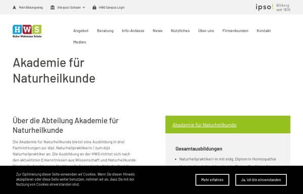 Vorschau von www.homoeopathie-basel.ch, Carola Arndt - Praxis für Klassische Homöopathie