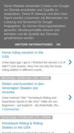 Vorschau der mobilen Webseite amigacoke.blogspot.com, Oland, R.