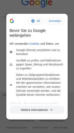 Vorschau der mobilen Webseite www.reckmann.org, Reckmann, Tim - Tim's kleine Welt