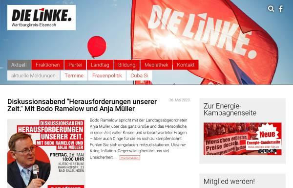 Vorschau von www.die-linke-wartburgkreis.de, Die Linke. Kreisverband Wartburgkreis