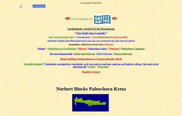 Vorschau von www.paleochora-kreta.de, Paleochora [Norbert Block]