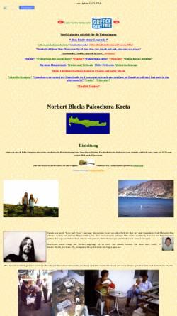 Vorschau der mobilen Webseite www.paleochora-kreta.de, Paleochora [Norbert Block]