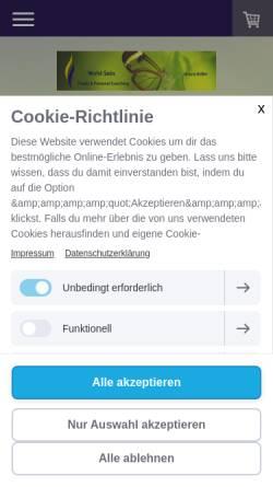 Vorschau der mobilen Webseite www.wohl-sein.ch, Wohlbefinden und Bewusstsein