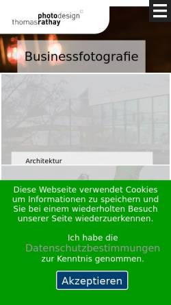 Vorschau der mobilen Webseite www.thomas-rathay.de, Rathay, Thomas