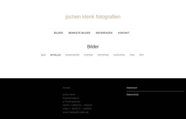 Vorschau von www.jochen-klenk.de, Jochen Klenk