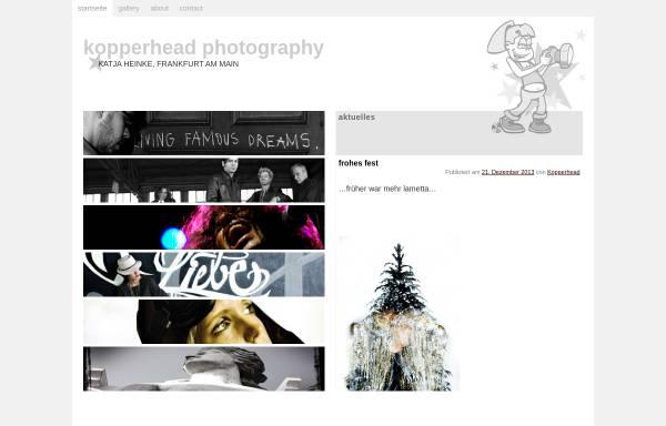 Vorschau von www.kopperhead.de, Kopperhead Photography - Katja Ostermeyer