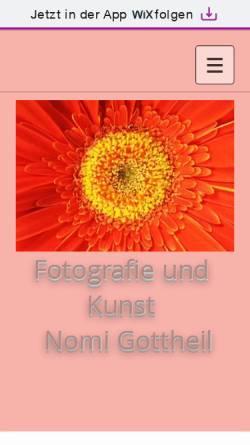 Vorschau der mobilen Webseite nomi65.wixsite.com, Nomi Gottheil