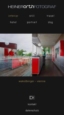 Vorschau der mobilen Webseite heiner-orth.de, Heiner Orth