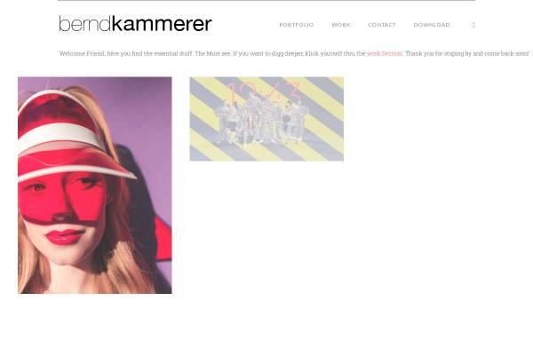 Vorschau von www.berndkammerer.com, Bernd Kammerer