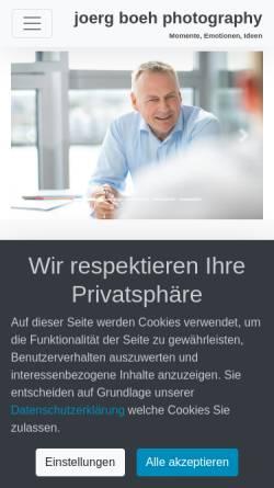 Vorschau der mobilen Webseite www.joerg-boeh.de, Jörg Böh