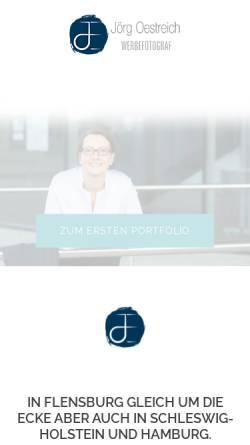 Vorschau der mobilen Webseite joergoestreich.com, Jörg Östreich Photodesign!