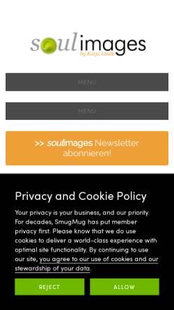Vorschau der mobilen Webseite soulimages.eu, Katja Liedle