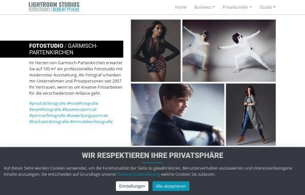 Vorschau von www.lightroom-studios.de, Lightroom-Studios