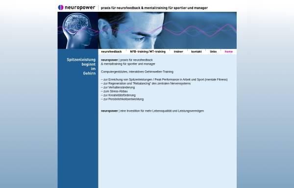Vorschau von www.neuropower.ch, Hans Lutz