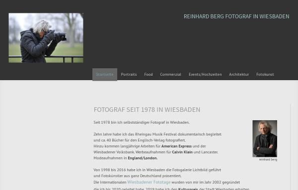 Vorschau von www.reinhard-berg.de, Reinhard Berg - Fotografie und Konzeption