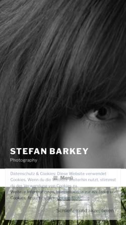 Vorschau der mobilen Webseite barkey.photography, Stefan Barkey