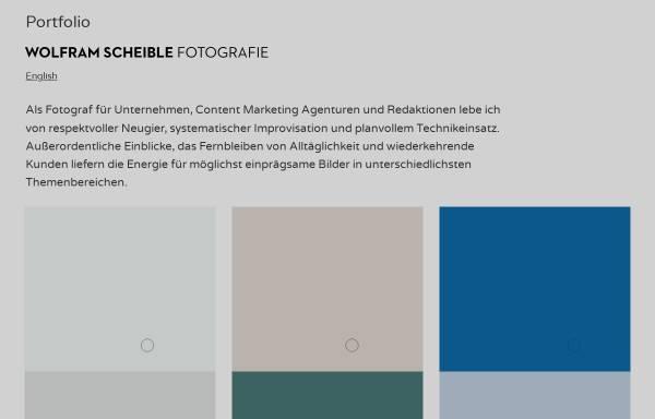 Vorschau von www.scheible.de, Wolfram Scheible