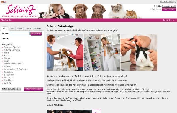 Vorschau von www.schanz-fotodesign.de, Schanz Fotodesign und Tierbildarchiv
