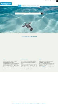 Vorschau der mobilen Webseite www.waterframe.de, WaterFrame