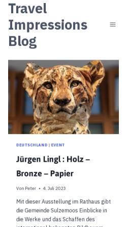 Vorschau der mobilen Webseite www.imagebox.de, Imagebox