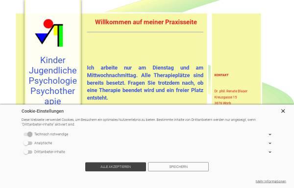 Vorschau von www.blaser-psychologie.ch, Atelier für Verhaltensanalyse