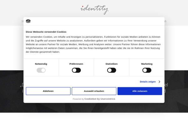 Vorschau von identity.ag, Identity.ag