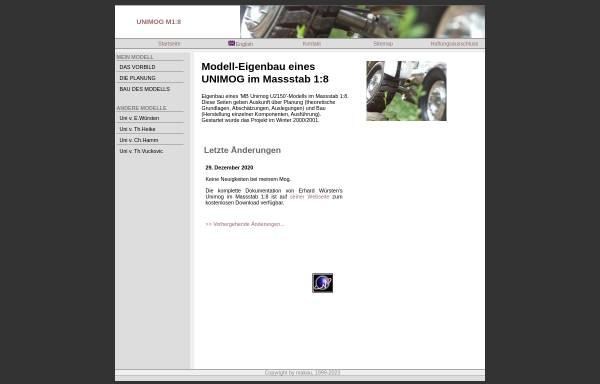 Vorschau von www.makau.ch, Modell-Unimog