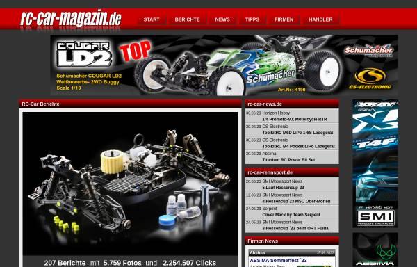 Vorschau von www.rc-car-magazin.de, rc-car-magazin