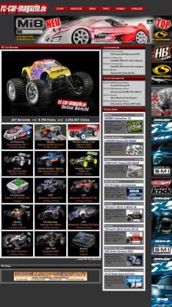 Vorschau der mobilen Webseite www.rc-car-magazin.de, rc-car-magazin