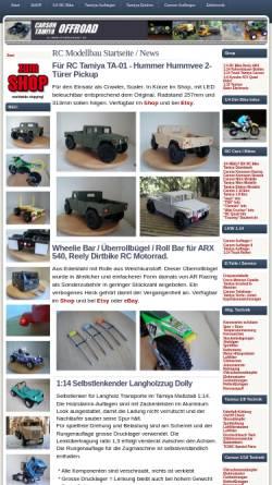 Vorschau der mobilen Webseite www.offroadmarkt.de, Tamiya Carson Offroad