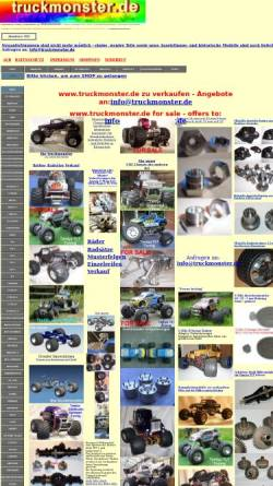 Vorschau der mobilen Webseite www.truckmonster.de, Truckmonster