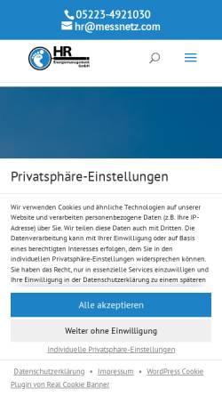 Vorschau der mobilen Webseite www.bhkw-anlagen.com, Dipl.-Ing. Holger Roswandowicz