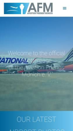Vorschau der mobilen Webseite www.afm-news.de, AFM-news.de