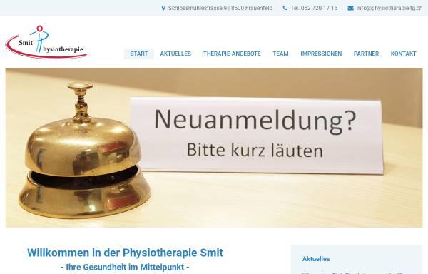 Vorschau von www.physiotherapie-tg.ch, Physiotherapie Smit & Fritschi