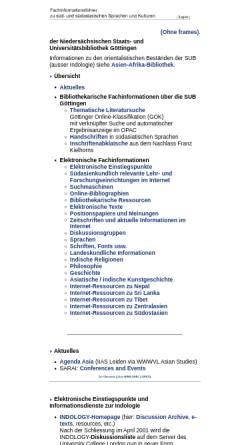 Vorschau der mobilen Webseite www.sub.uni-goettingen.de, Fachinformationsführer
