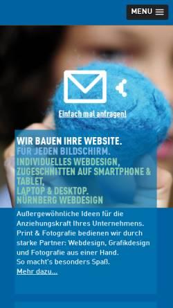Vorschau der mobilen Webseite www.grillenberger.de, Grillenberger.de