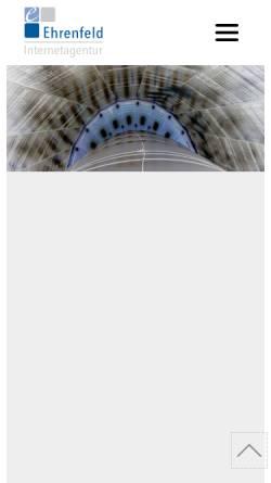 Vorschau der mobilen Webseite www.ehrenfeld.org, Jacqueline Ehrenfeld und Martin Ehrenfeld GbR