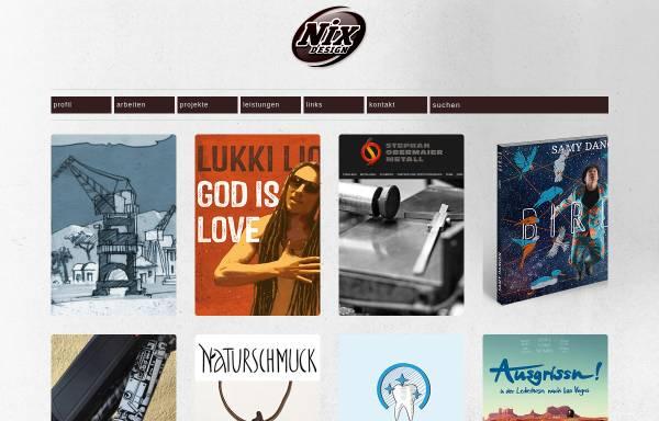 Vorschau von www.nixdesign.de, nixdesign