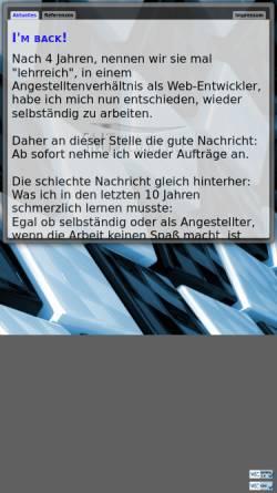 Vorschau der mobilen Webseite www.smt-webservices.de, SMT WebServices, Tordt Schmidt