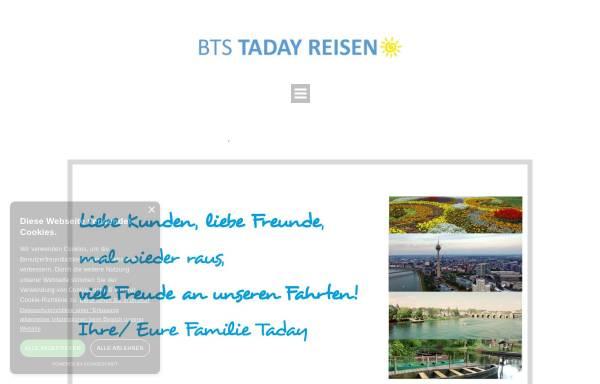 Vorschau von www.bts-reisen.de, BTS Reisen