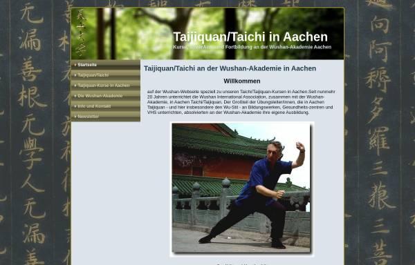 Vorschau von taijiquan-aachen.de, Wushan International Association e.V.