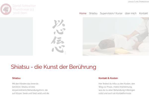 Vorschau von shiatsubern.ch, Schneitter Daniel