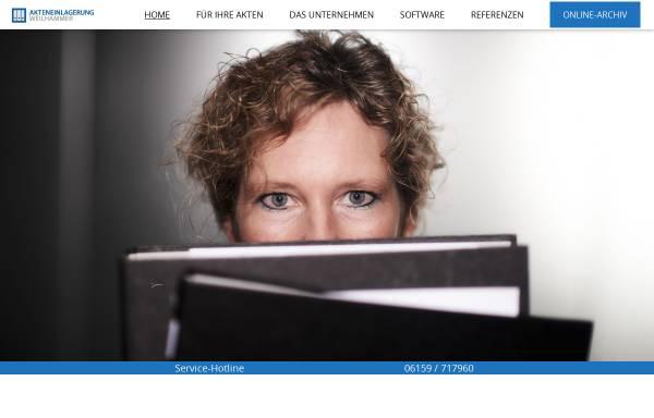 Vorschau von akteneinlagerung.de, Akteneinlagerung Weilhammer GmbH
