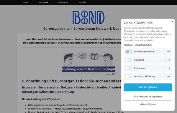 Vorschau von www.boond.de, BooND e. V.
