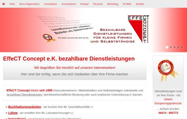 Vorschau von www.effect-concept.de, EffeCT Concept e.K.
