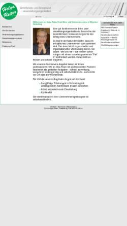 Vorschau der mobilen Webseite www.helga-reiter.de, Helga Reiter - Büro- und Sekretariatsservice