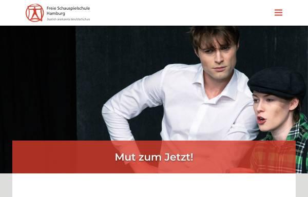 Vorschau von www.freie-schauspielschule-hamburg.de, Freie Schauspielschule Hamburg