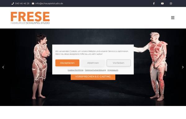 Vorschau von www.schauspielstudio.de, Hamburger Schauspiel-Studio Frese